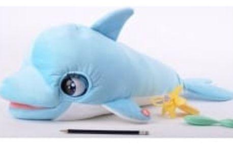 Plyšová hračka Teddies Delfín Blu Blu