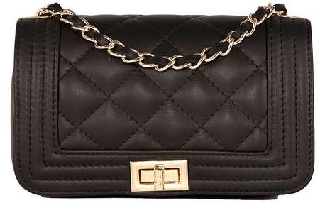 Černá kabelka z pravé kůže Andrea Cardone Elena - doprava zdarma!