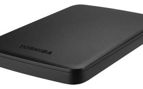 "Externí pevný disk 2,5"" Toshiba Canvio Basics 500GB (HDTB305EK3AA) černý"