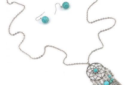 Set šperků s přívěškem lapače snů