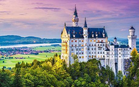 1denní zájezd pro 1 osobu na německé zámky Neuschwanstein a Linderhof
