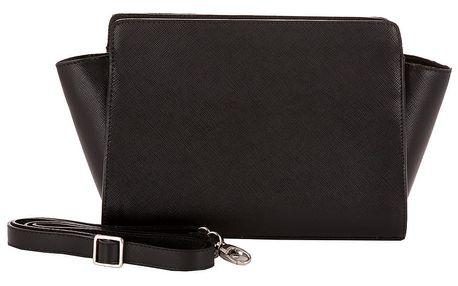 Černá kabelka z pravé kůže Andrea Cardone Mattia - doprava zdarma!