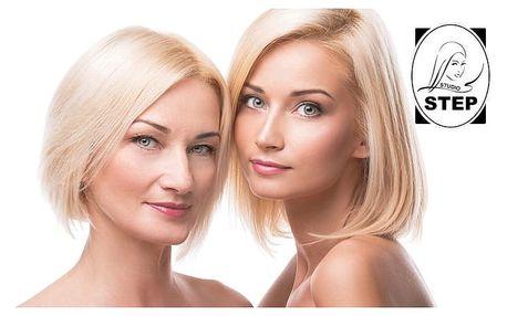 Bohaté kosmetické ošetření pro dvě dámy ve Studiu Step Praze