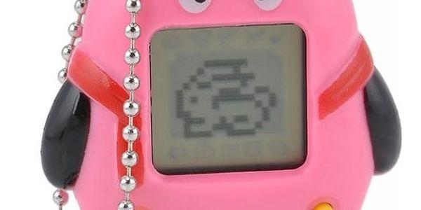 Tamagotchi/Electronic pets: kultovní elektronická hračka do kapsy ve 3 barvách, výběr ze 168 zvířátek k chování2
