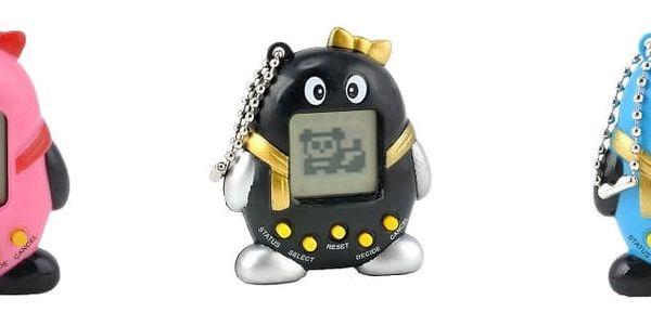 Tamagotchi/Electronic pets: kultovní elektronická hračka do kapsy ve 3 barvách, výběr ze 168 zvířátek k chování3