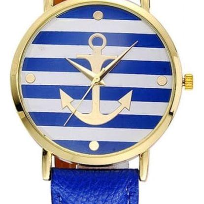 Hodinky v námořnickém stylu - 5 barev