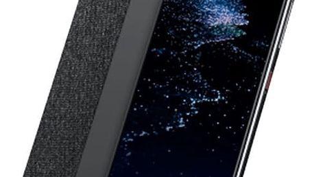 Huawei Original S-View Pouzdro pro P10, tmavě šedá - 51991886