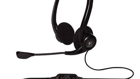 Headset Logitech 960 USB (981-000100) černý