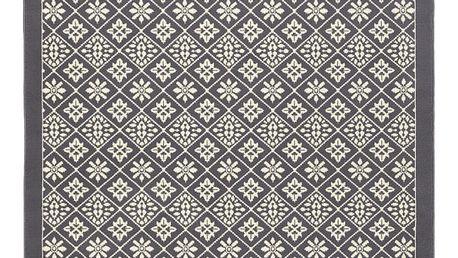 Šedo-béžový koberec Hanse Home Gloria Tile, 160x230cm - doprava zdarma!