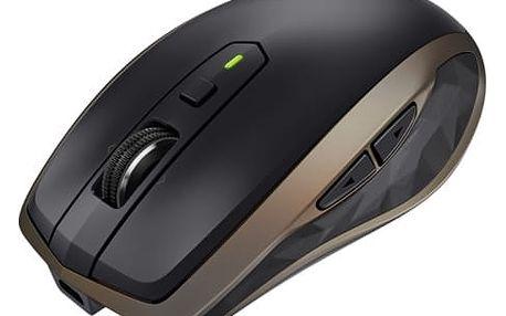 Myš Logitech MX Anywhere 2 (910-004374) bronzová / laserová / 6 tlačítek / 1600dpi
