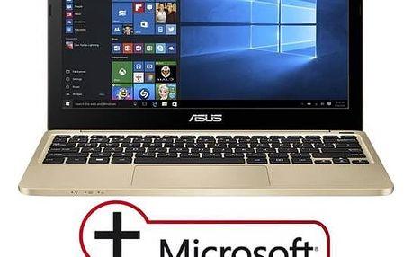 Notebook Asus VivoBook E200HA-FD0081TS (E200HA-FD0081TS) zlatý Monitorovací software Pinya Guard - licence na 6 měsíců (zdarma)Software F-Secure SAFE 6 měsíců pro 3 zařízení (zdarma) + Doprava zdarma