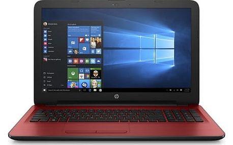 Notebook HP 15-ba065nc (X3L18EA#BCM) červený