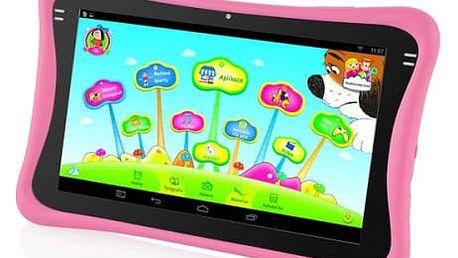Dotykový tablet GoGEN Maxipes Fík MAXPAD9 G2P růžový + dárek