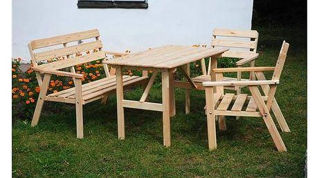 Zahradní nábytek Rojaplast Nordic dřevo