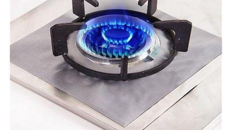 Odolná ochrana plynového sporáku - 4 kusy