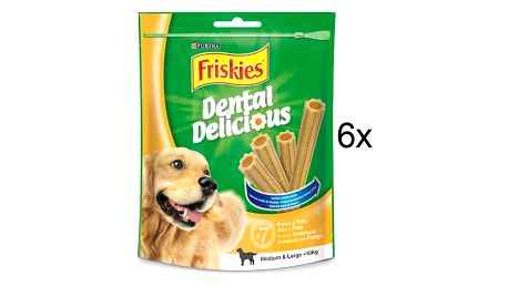 Pochoutka FRISKIES Friskies Dental Delicious 6 x200 g M