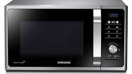 Mikrovlnná trouba Samsung MS23F301TAS/EO černá/stříbrná/nerez + Kryt Jolly do mikrovlnné trouby v hodnotě 79 Kč