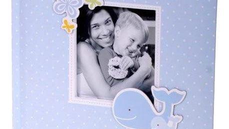 KARPEX Exkluzivní dětské fotoalbum 10x15/200 foto HONEY, Modré