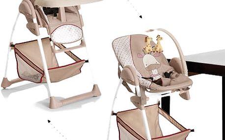HAUCK Jídelní židlička Sit N Relax Giraffe 2017