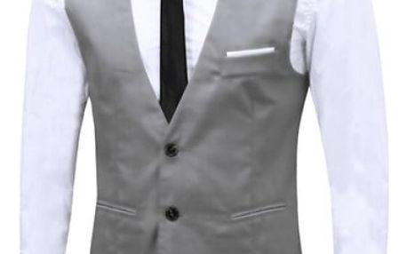 Stylová formální vesta pro muže - 4 barvy