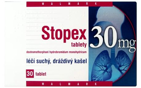 STOPEX TABLETY 30 30X30MG Tablety