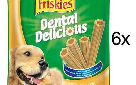 Pochoutka FRISKIES Friskies Dental Delicious 6 x200 g M