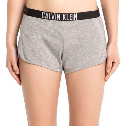Calvin Klein šedé teplákové kraťasy Grey Heather - M