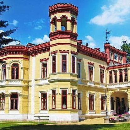3denní wellness pobyt pro 2 s romantickým nádechem v hotelu Zámek Mostov na západě Čech