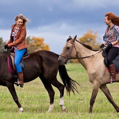 Hurá do sedla: 45minutová vyjížďka na koni