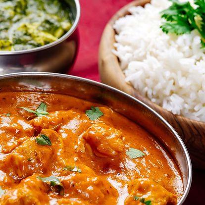 Skvělé indické menu poskládané dle vašeho gusta