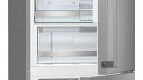 Kombinace chladničky s mrazničkou Gorenje Superior NRK6192TX Inoxlook + Doprava zdarma