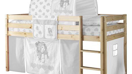 Zvýšená postel KENI