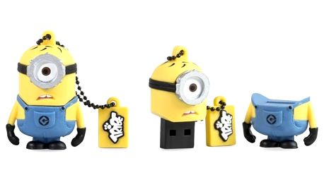USB flash disk TRIBE USB 8GB Minions Carl FD021405