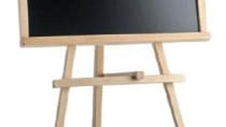TEDDIES Tabule stojanová dřevěná 88x46 cm