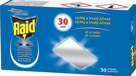 RAID Elektrický suchý polštářek-náplň, 30 ks