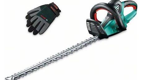 Nůžky na živý plot Bosch AHS 65-34, set s rukavice + Doprava zdarma