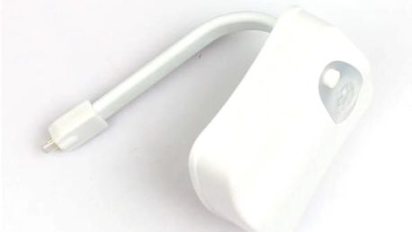 LED osvětlení toalety s pohybovým senzorem