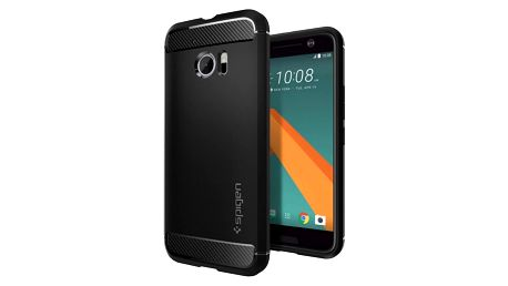 Spigen Rugged Armor, black - HTC 10 - H09CS20276