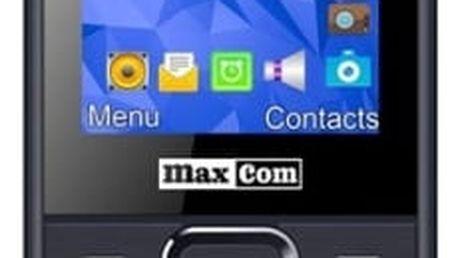 Mobilní telefon MaxCom MM141 Dual SIM (MM141) šedý