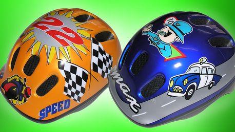 Dětské cyklistické helmy