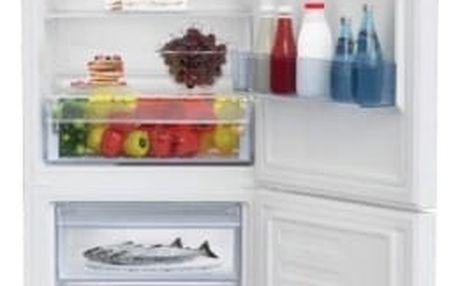 Kombinace chladničky s mrazničkou Beko CSA 365 K30W bílá