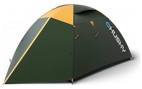 Stan Husky Outdoor Boyard 4 Classic zelený + Přístřešek BLUM 2 PLUS v hodnotě 930 Kč + Doprava zdarma