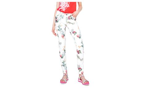 Desigual barevné kalhoty Lisa - 46