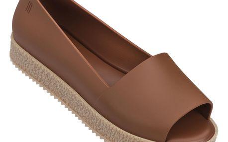 Melissa hnědé boty Puzzle Brown - 38