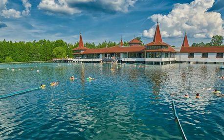 Lázěňský wellness pobyt v Maďarsku poblíž jezera Hevíz a Balatonu v Hotelu Hévíznél s polopenzí