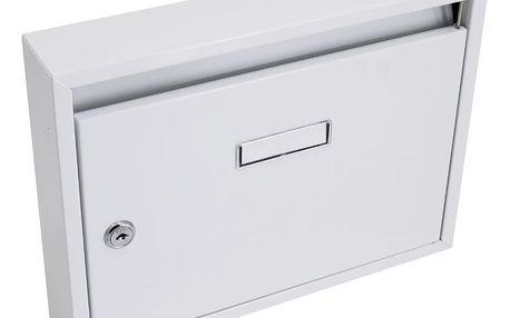 G21 Schránka poštovní paneláková 325x240x60 mm šedá bez děr