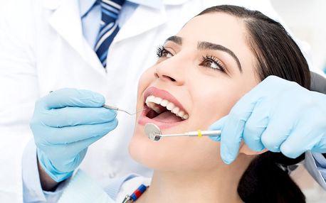 Důkladná dentální hygiena v délce 45 minut