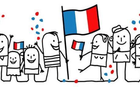 Kurz francouzštiny pro mírně pokročilé: flexibilní výuka ve 2-4 účastnících