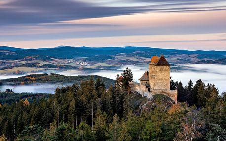 Kouzelný podzim u Kašperských Hor vč. polopenze
