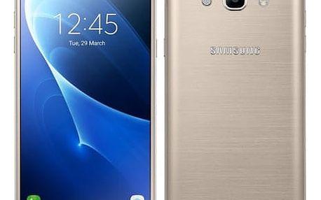 Mobilní telefon Samsung J7 2016 (J710F) (SM-J710FZDNETL) zlatý